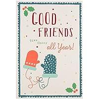 """Hallmark Carte Good Friends """"Cheer All Year"""" carte de Noël"""