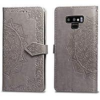 Handyhülle Samsung Galaxy Note 9,Handytasche Samsung Note 9,HUDDU Mandala Blumen Flip Leder Tasche Galaxy Note... preisvergleich bei billige-tabletten.eu