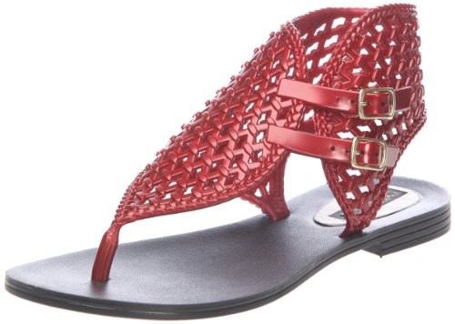 Colors of California HC8576, Damen Sandalen Rot (Rouge)