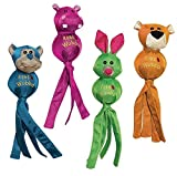 3 PACK WUBBA BALLISTIC FRIENDS, Color: May Vary - Randomly Picked; Size: LARGE (Catalog Category: Dog:TOYS)