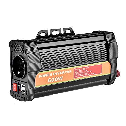 WZTO Convertisseur 12V 220V Transformateur 600W/300W...