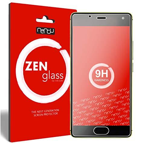 nandu I ZenGlass [2 Stück] Flexible Glas-Folie für Wiko U Feel Panzerfolie I Bildschirm-Schutzfolie 9H I (Kleiner Als Das Gewölbte Bildschirm)