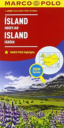 Islanda 1:750.000 (Carte stradali Marco Polo)