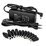 Sunydeal Chargeur Alimentation 90W pour Acer, Sony, Toshiba, Fujitsu, NEC, Grande Muraille, HP / Compaq, Dell, Delta, IBM, ASUS, Samsung, LG,