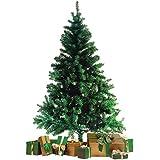 Wohaga® Àrbol de Navidad con soporte 180cm / 600 puntas Abeto artificial Decoración navideña