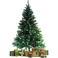 WOHAGA Àrbol de Navidad con Soporte 180cm/600 Puntas Abeto Artificial Decoración Navideña