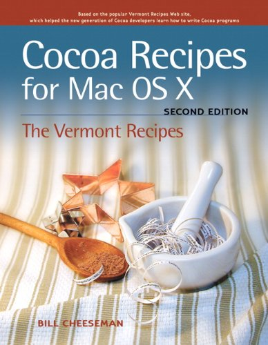 Cocoa Recipes for Mac OS X (English Edition) por Bill Cheeseman