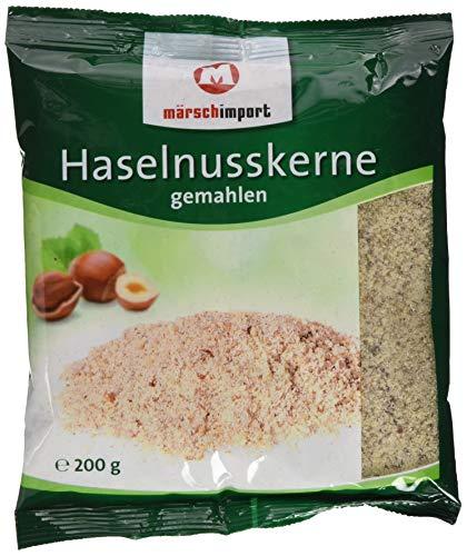 Märsch Import Haselnusskerne gemahlen, 200 g