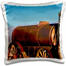 Danita Delimont - Antiques - Mule wagon, Harmony Borax Works, Death Valley NP, California, USA. - 16x16 inch Pillow Case (pc_207807_1)