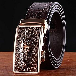 SADUZI Ledergürtel mit einzigartigem Design
