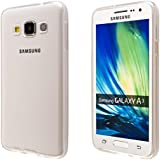 ECENCE Samsung Galaxy A3 A300FU Protective TPU funda de silicona de gel cover case transparente 42030501