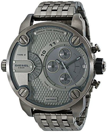Diesel DZ7263 – Watch For Men, Metal Strap