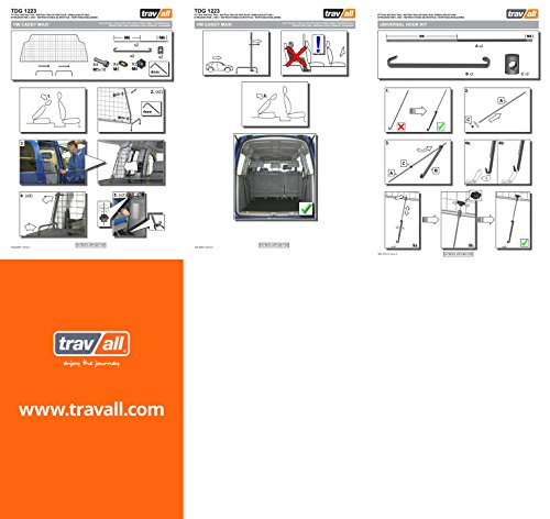 Travall® Guard Hundegitter TDG1223 – Maßgeschneidertes Trenngitter in Original Qualität - 3
