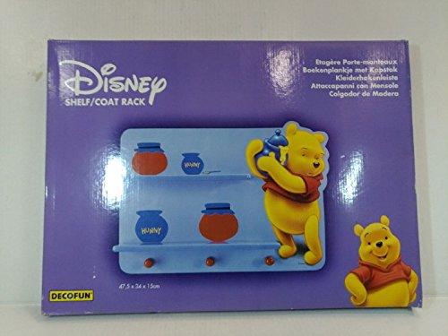 Decofun 5cm Con The Facile Pooh 47cm Disney 15cm Attaccapanni Istruzioni Da Comprende Montaggio Di Montare Mensola X 34 Winnie 7b6gfy