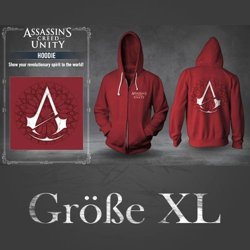 Assassin's Creed Unity Hoodie (Original by Ubisoft) Größe XL