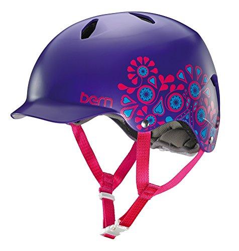 bern-bandita-casque-fille-eps-thin-shell-m-l-violet-satin-lila