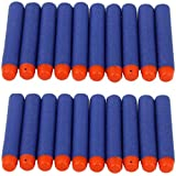 JERN Toy Bullet Foam Dart Bullets for Nerf N-Strike Elite Guns (Pack of 20)