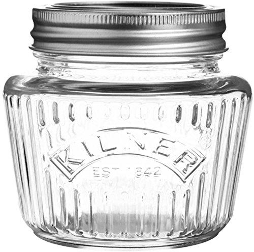 Kilner - Einweckglas - Einmachglas - Vintage - Look 0.25 Lt Classic Storage Jar