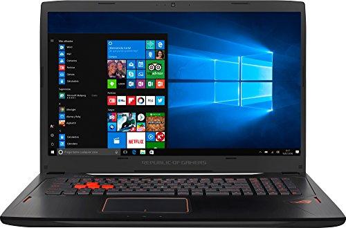 ASUS GL702VS-BA007T - Ordenador Portátil de 17.3' Full HD IPS 120Hz (Intel Core i7-7700HQ , 16 GB RAM, 1 TB HDD + 256 GB SSD, Nvidia GeForce GTX 1070 de 8 GB, Windows 10 Home) Negro - Teclado QWERTY Español