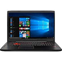 "ASUS GL753VD-GC189T - Portátil de 17.3"" (Intel Core i7-7700HQ, RAM de 32 GB, 1 TB HDD, SSD de 256 GB, Nvidia GeForce GTX 1050, Windows 10 Original, Teclado QWERTY Español) Metal Negro"