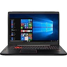 """ASUS GL753VD-GC185T - Ordenador Portátil de 17.3"""" Full HD IPS (Intel Core i7-7700HQ , 16 GB RAM, 1 TB HDD, Nvidia GeForce GTX 1050 de 4 GB, Windows 10 Home) Negro metal - Teclado QWERTY Español"""