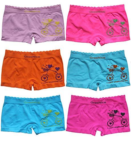 Pack Kinder Girl Mädchen Pantys Unterhose Hipster Mädchen Schlüpfer Unterwäsche Boxershorts Slips 2-12 Jahre Größe 92-158 (10er, 152-158) ()