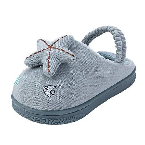 YU'TING ‿ Pantofole da Casa Bimba, 3D Stella Pantofole, Sandali Bambino Antiscivolo Ciabatte Bimba 2-12 Anni