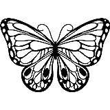 Marabu - Plantilla para estarcido (15 x 15 cm), diseño de mariposa