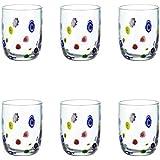 Leonardo 017187 Millefiori - Juego de 6 vasos
