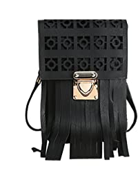 Hawai Small & Casual Black Sling Bag For Women