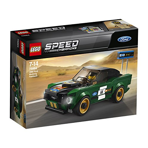 LEGO – 75884 – Speed Champions – Jeu de construction – Ford Mustang Fastback 1968