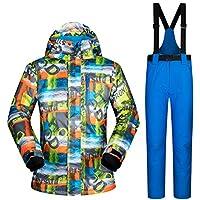 Zjsjacket Skijacke Skianzug Männer Marken Winter Wasserdicht Verdicken Outdoor Schnee Sets Berg Warme Skifahren Und Snowboarding Männlich Ski Jacke Männer
