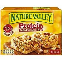 Nature Valley - Barritas de proteinas - Salted Caramel Nut - Caja de 4 unidades