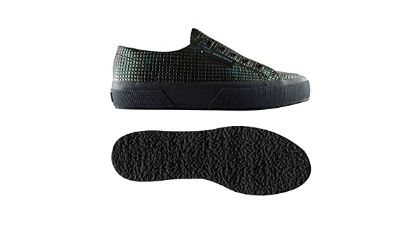 03f36773cfc49 Superga Superga 2750-ELASTIC SYNTHSQUARESW GREY  Amazon.co.uk  Shoes   Bags