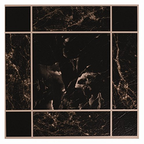 20-x-black-marble-effect-self-adhesive-stick-on-vinyl-floor-tiles-kitchen-bath-by-itp