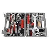 Best Bicycle Tool Kits - Landcrossers Bicycle Repair Tool Kit 44PCS Repair Maintenance Review