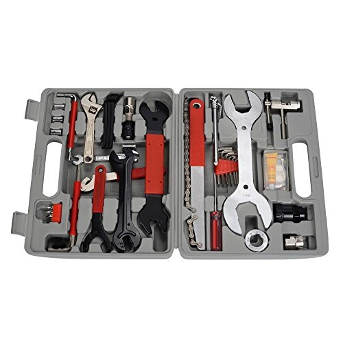 Landcrossers Bicycle Repair Tool Kit 44PCS Repair Maintenance Tools Mechanic Bicycle Cycling Mountain Bike Valuables with Case