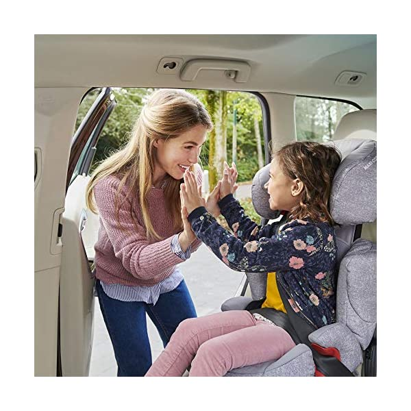 Maxi-Cosi Rodi AirProtect Child Car Seat, Lightweight Highback Booster, 3.5-12 Years, 15-36 kg, Sparkling Grey Maxi-Cosi Child car seat, suitable from 3.5 to 12 years (15-36 kg) Easily install this safe car seat with a three point seat belt and attach the anchorage point in the head rest through your cars head rest Patented AirProtect technology in headrest reduces the risk of head and neck injuries up to 20 percent 9