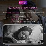 Mibao-1080P-Telecamera-Sorveglianza-Wifi-Camera-IP-Wireless-Interno-con-Visione-Notturna-Rilevamento-Movimento-Allarme-via-APP-PetElderlyBaby-Monitor-Compatibile-con-iOS-e-Android-e-PC