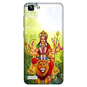 Bhishoom Printed Hard Back Case Cover for Vivo Y27L - Premium Quality Ultra Slim & Tough Protective Mobile Phone Case & Cover