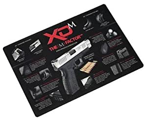 "Springfield Armory XD (m) XDm : ""The M Factor"" Rubber Neoprene Large Counter Mat by Springfield Armory"