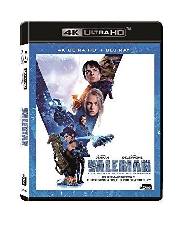 Valerian Y La Ciudad De Los Mil Planetas Blu-Ray + Uhd 4k [Blu-ray]
