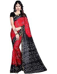 SVB Sarees Designer Bandhani Pattern Art Silk Saree For Women