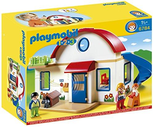 Playmobil 1.2.3 - Casa moderna (6784)