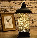 HAPPYMOOD Mauer Lampe Zeichenfolge Beleuchtung 100LED Batterie Angetrieben Romantisch Fee Zum Innen Draussen Weihnachten Valentinstag Dekoration
