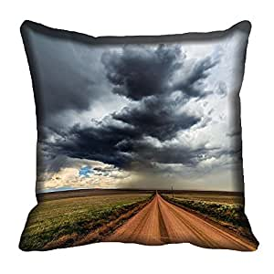 meSleep Nature 57-089 Digitally Printed Cushion Cover (16x16)