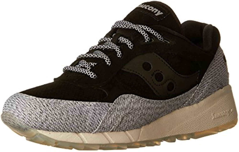 Saucony Negro/Gris Shadow 6000 Zapatillas - En línea Obtenga la mejor oferta barata de descuento más grande