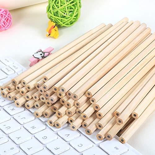 eundliche Natürliche Holz Bleistift HB Schwarz Hexagonal ungiftig Standard Bleistift Nette Schreibwaren Büro Schule liefert ()