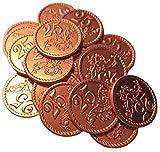 LudoXL 20 Spielmünzen aus Metall - Wert 25