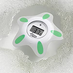 Tommee Tippee Closer to Nature Bath and Room Thermometer, White